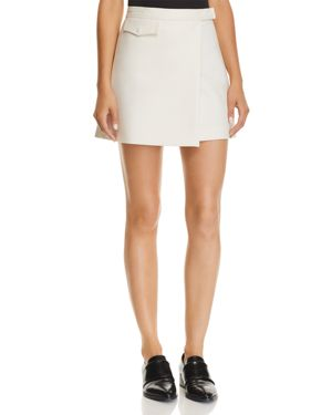 Theory Mini Wrap Skirt