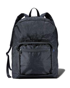 BAGGU School Backpack in Black/Black