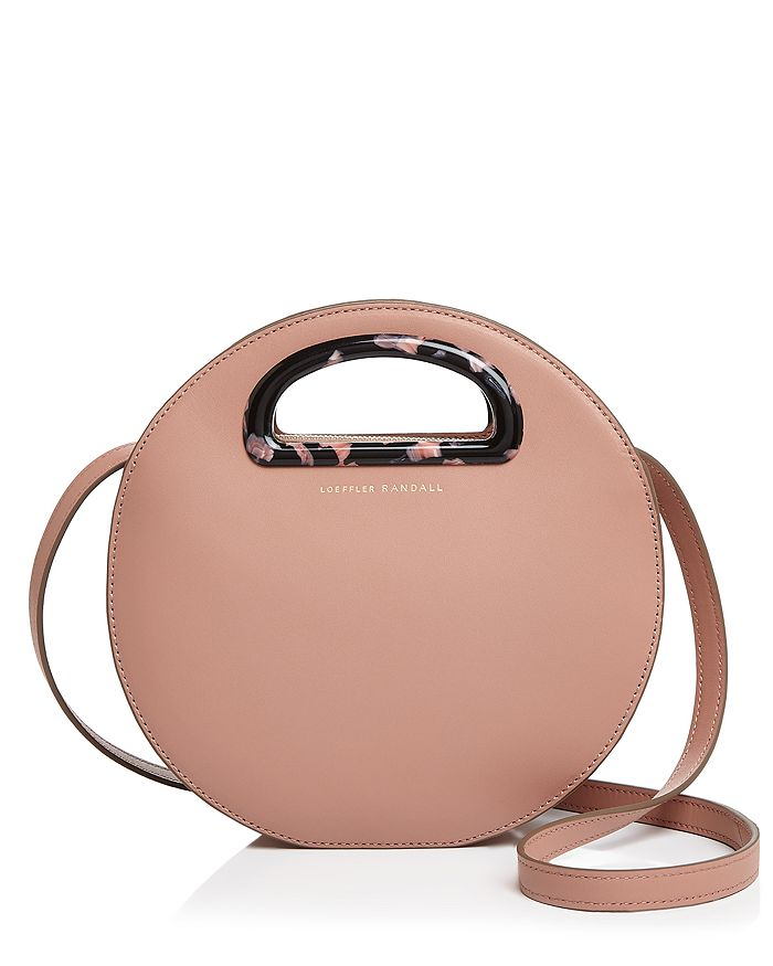 Loeffler Randall - Indy Round Leather Crossbody - 100% Exclusive