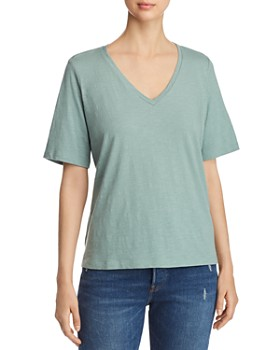 Eileen Fisher - Organic Cotton V-Neck Tee