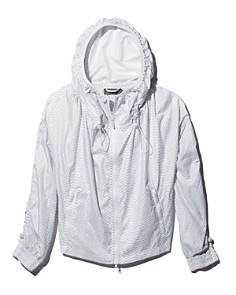 adidas by Stella McCartney - Snake Print Drawcord Windbreaker