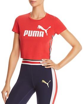 PUMA - Cropped Logo Tee