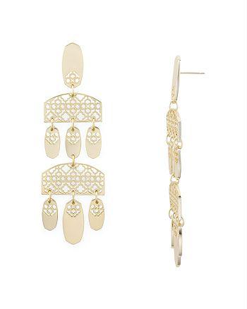Kendra Scott - Emmet Tiered Chandelier Earrings