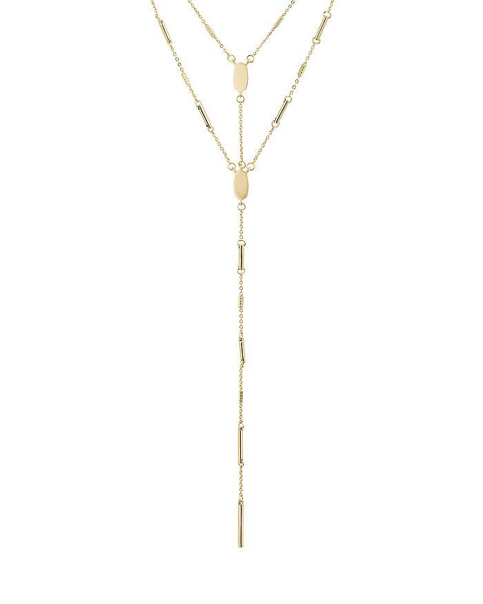 "Kendra Scott - Adelia Layered Lariat Necklace, 18"""