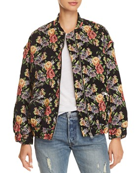 IRO.JEANS - Amour Floral Bomber Jacket