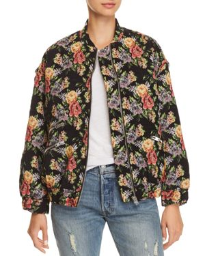IRO.JEANS IRO. JEANS AMOUR FLORAL BOMBER JACKET