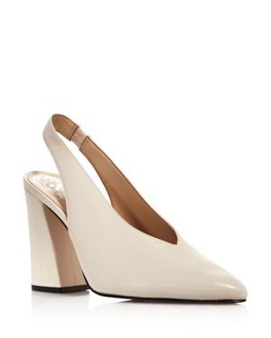 Vince Camuto Women's Tashinta Pointed-Toe Block High-Heel Pumps 3045817