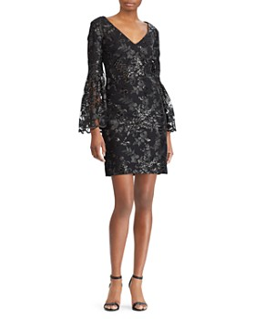 Ralph Lauren Sequined Lace Dress