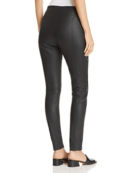 Elie Tahari - Roxanna Leather Leggings