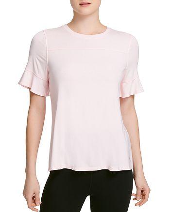 Donna Karan - Ruffle-Sleeve Top