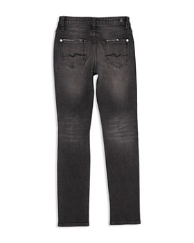 7 For All Mankind - Boys' Distressed Paxton Stretch Jeans in Eclipse - Little Kid