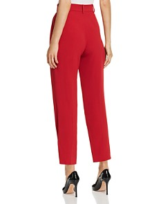 Emporio Armani - Cropped High-Waisted Pants
