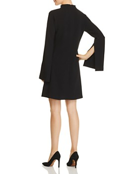 Theory - Flared-Sleeve Crepe Dress