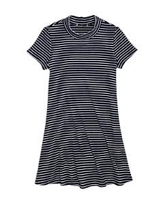 AQUA - Girls' Striped Shirt Dress, Big Kid - 100% Exclusive