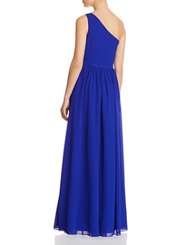 Laundry by Shelli Segal - One-Shoulder Goddess Gown - 100% Exclusive