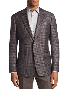Armani - G-Link Check-Print Tailored Fit Jacket