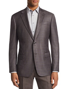 Emporio Armani - G-Link Check-Print Tailored Fit Jacket