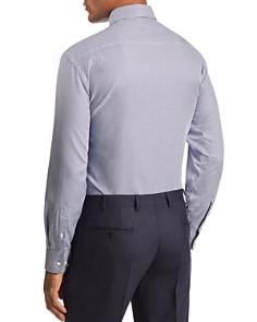 Emporio Armani - Herringbone-Print Tailored Fit Shirt