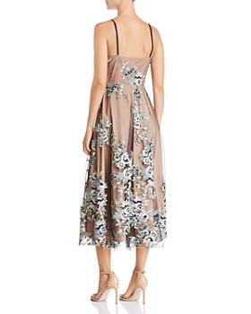 SAU LEE - Gabriella Embroidered Dress