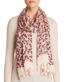 kate spade new york - Wild Roses Oblong Scarf