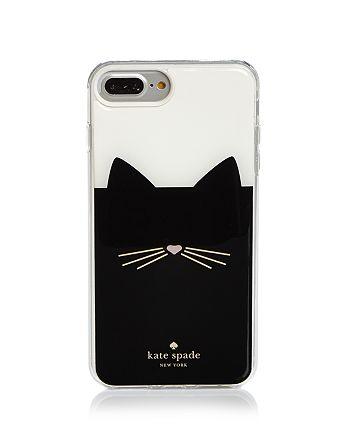 newest 7ebc6 59d82 kate spade new york Black Cat iPhone 7/8 Plus Case | Bloomingdale's