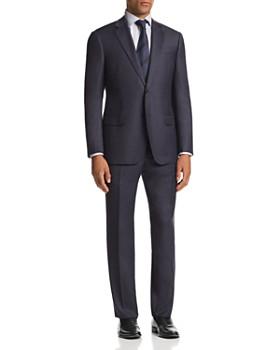 Emporio Armani - G-Line Micro-Check-Print Classic Fit Suit