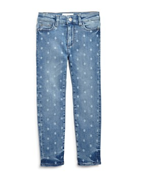 DL1961 - Girls' Faded Polka-Dot Skinny Jeans - Little Kid