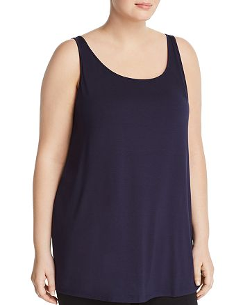 Eileen Fisher Plus - Scoop Neck Tank