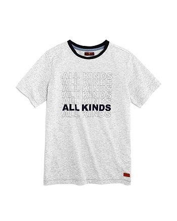 7 For All Mankind - Boys' All Kinds Tee - Little Kid