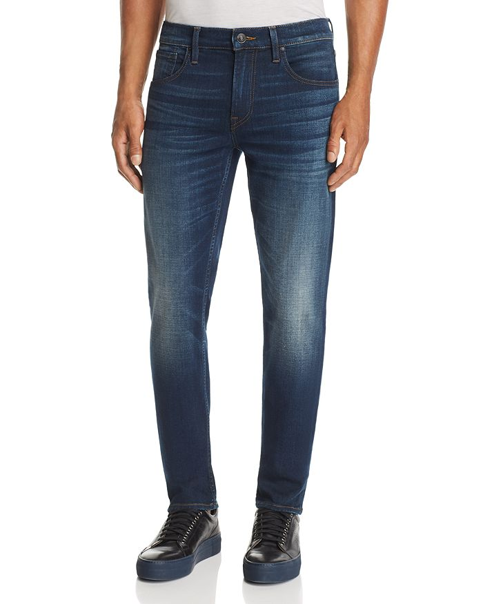 Hudson - Blake Straight Slim Fit Jeans in Norwood