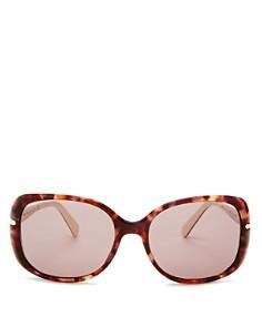 Prada - Women's Square Sunglasses, 57mm