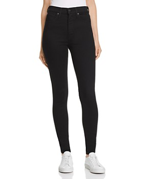 Levi's - Mile High Super Skinny Jeans in Black Galaxy
