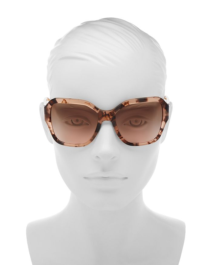 a8d54f94c725 Tory Burch Women's Reva Square Sunglasses, 56mm | Bloomingdale's