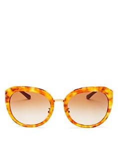 Tory Burch - Women's Reva Round Sunglasses, 56mm