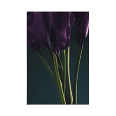 "Art Addiction Inc. - Purple Tulips Wall Art, 36.24"" - 100% Exclusive"