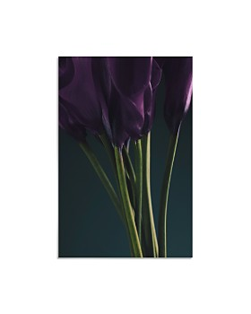 "Art Addiction Inc. - Purple Tulips Wall Art, 36.24"" - 100% Exclusive"