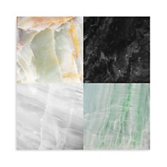 "Art Addiction Inc. - Quadrant Black/White Square Wall Art, 15.75"" x 15.75"" - 100% Exclusive"