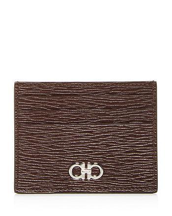 Salvatore Ferragamo - Gancini Revival Leather Card Case
