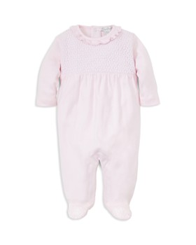 Kissy Kissy - Girls' Knit-Bodice Footie - Baby
