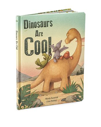 Jellycat - Dinosaurs Are Cool Book - Ages 0+