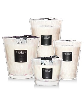 Baobab Collection - Baobab Collection White Pearls Candles