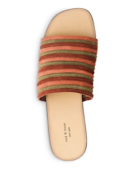 rag & bone - Women's Cameron Flat Slip-On Sandals