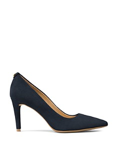 MICHAEL Michael Kors - Women's Dorothy Flex Suede Pointed Toe High-Heel Pumps