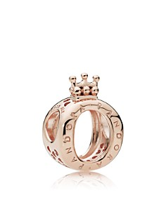 PANDORA Rose Gold-Tone Sterling Silver Crown Charm - Bloomingdale's_0