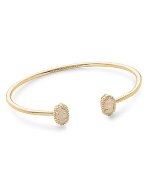 Calla Bracelet in Gold/Iridsecent Drusy