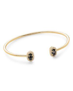 Calla Bracelet, Gold/Black