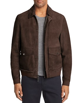 Michael Kors - Suede Bomber - 100% Exclusive