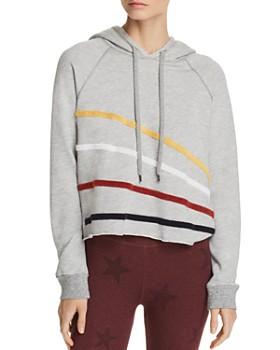 Sundry - Appliquéd Hooded Sweatshirt