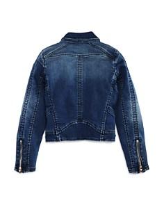 BLANKNYC - Girls' Stretch Denim Moto Jacket - Big Kid