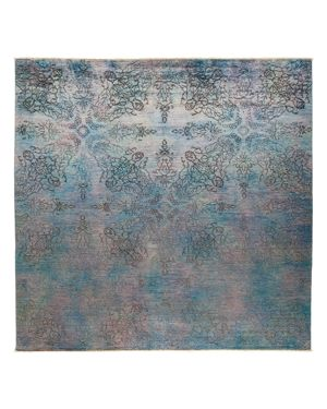 Solo Rugs Vibrance 19 Hand Knotted Area Rug, 8' 10 x 8' 10